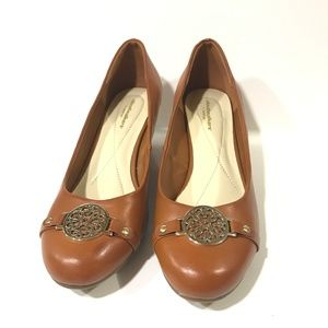 Cloudwalkers by Avenue Tanned Wedges